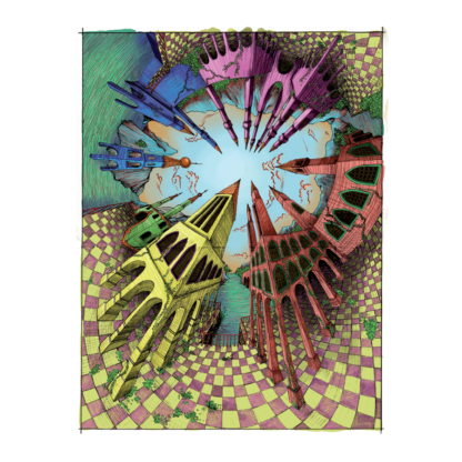 Werk getiteld 'CircleScape'